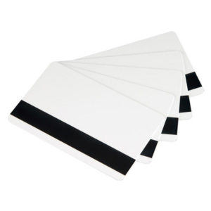 CR80.30 High Coercivity Mag Stripe PVC Cards